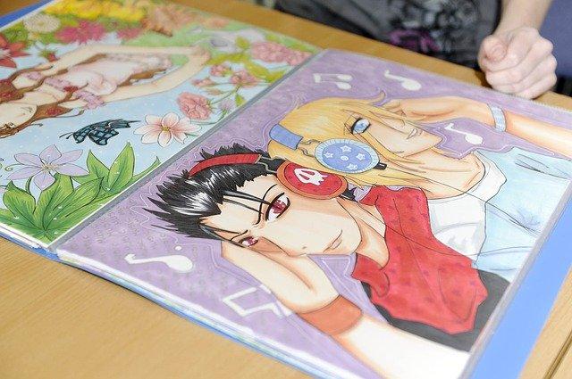 livre dessin manga